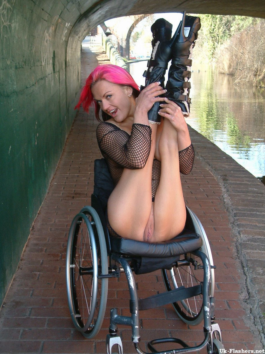 Seems naked wheelchair women