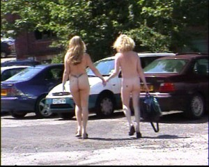 public nudity lesbians